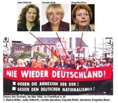 grüne nie wieder deutschland