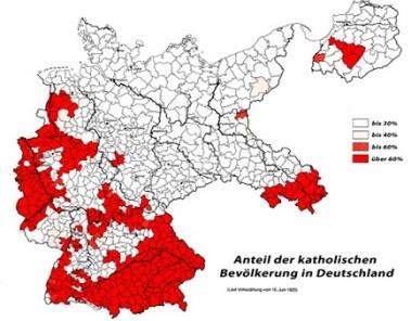 katholische Bevölkerung 1925