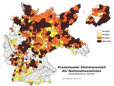 Protestantische Naziwähler 1932